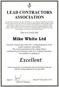 Lead Contractors Association Certification